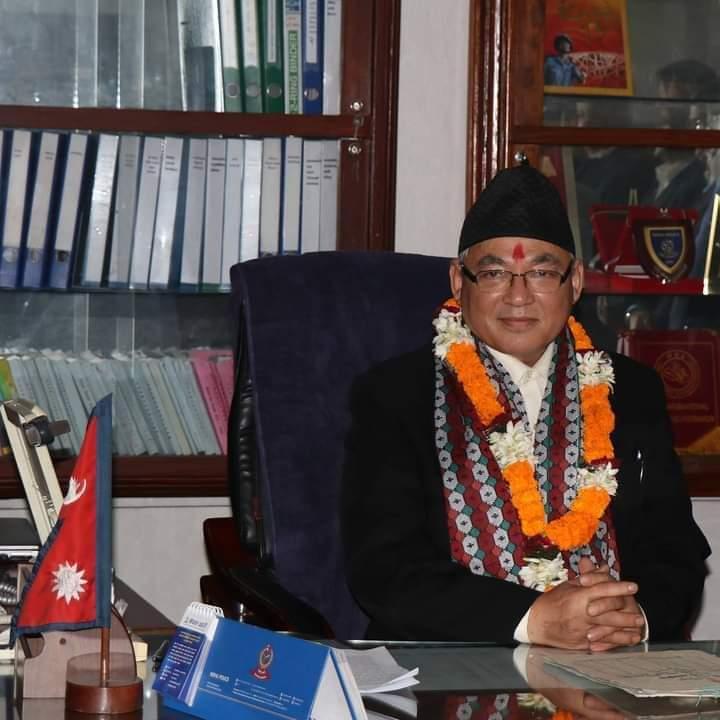 नेकपा एमालेको उपाध्यक्षमा गृहमन्त्री थापा