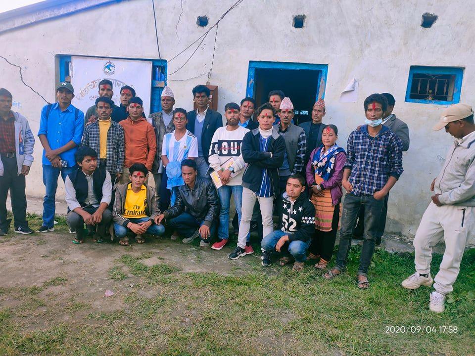 कालिकोटको खाँडाचक्रमा युवा विकास फाउन्डेसन गठन