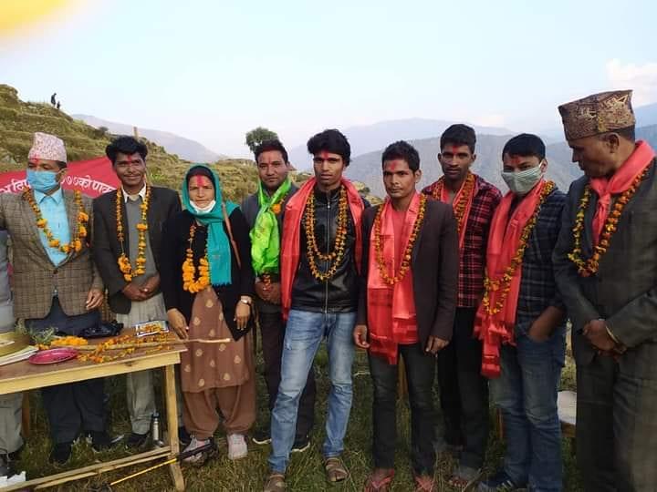 कालिकोटको खाँडाचक्रमा १५ जना काँग्रेस युवा नेता नेकपामा प्रवेश