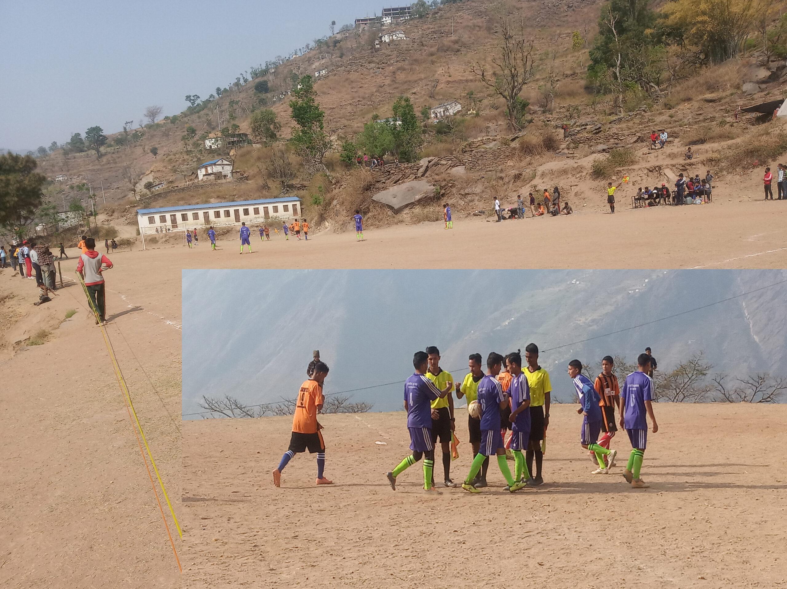 प्रथम योगी नरहरीनाथ फुटवल खेलको चौथो दिन ४ गेम हुदै